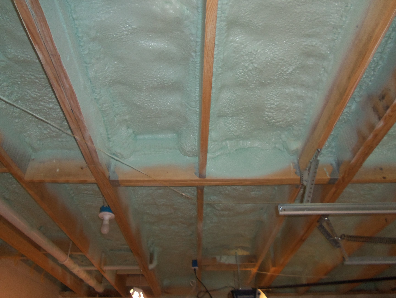 Spray Foam Insulation Green Space Construction St