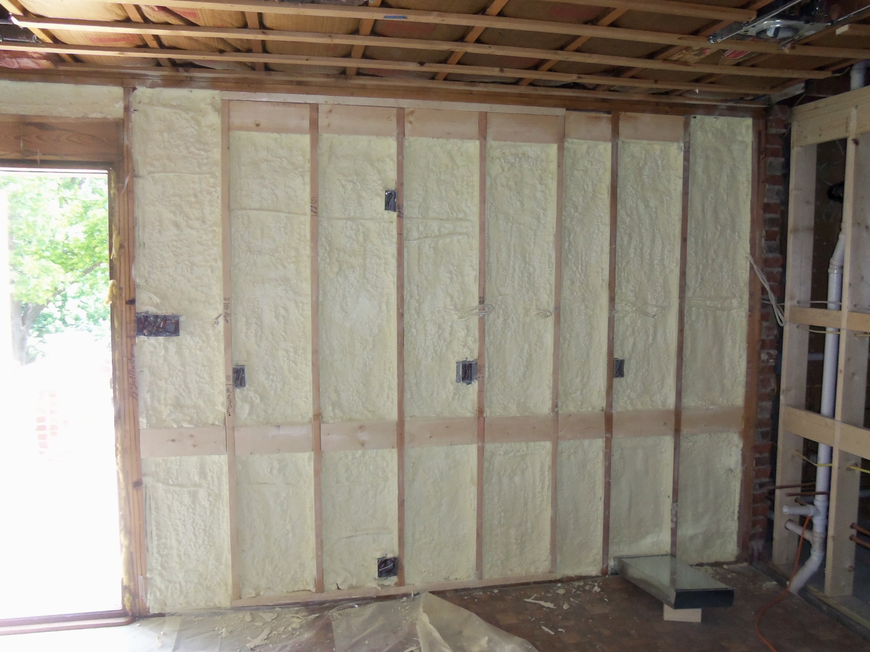 St  Louis Closed Cell Spray Foam   Green Space Construction